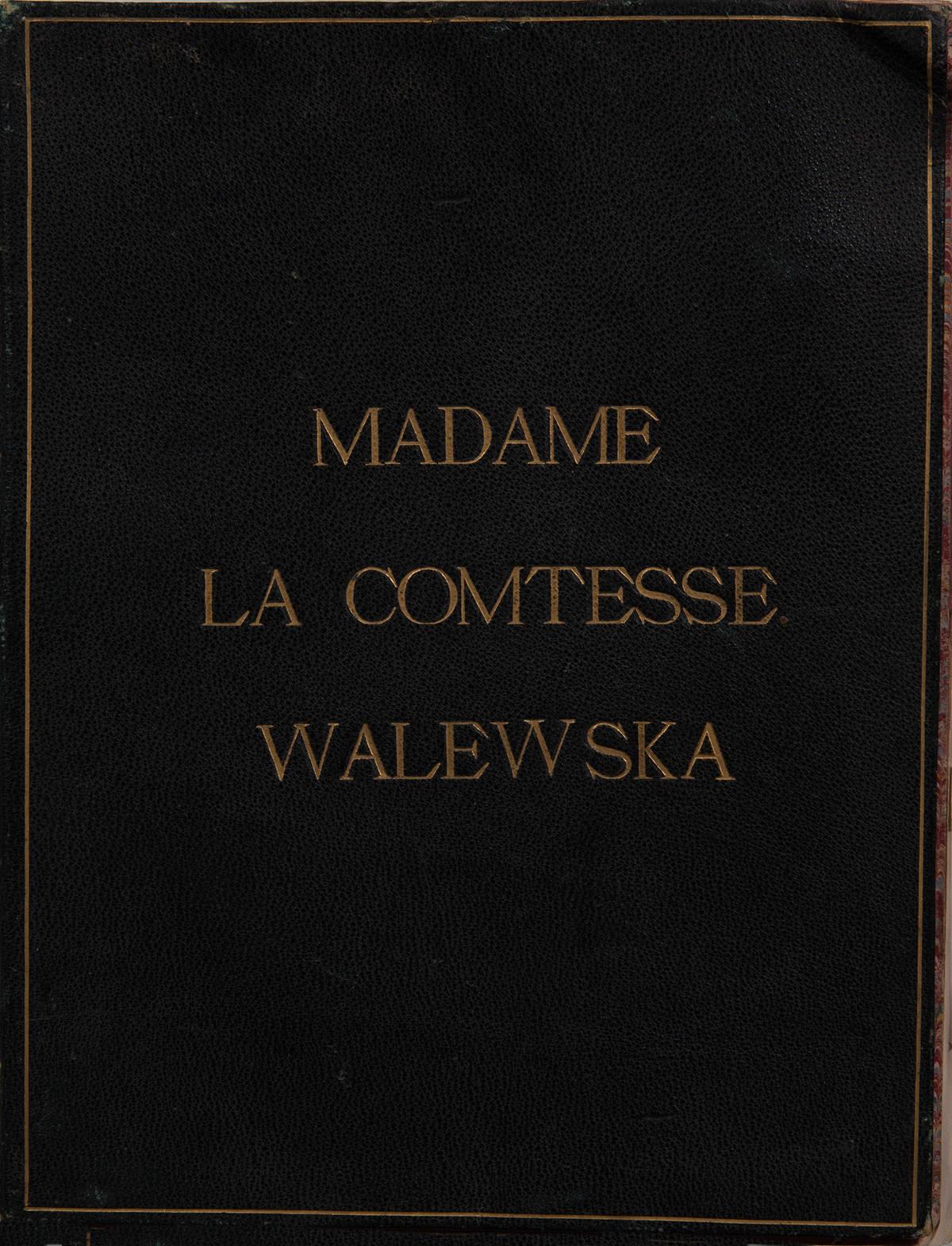 Livre d'or de la Comtesse Waleska