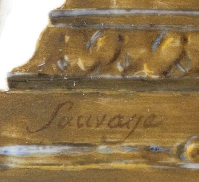 Paire de vases : Le couronnement de l'Empereur et l'Impératrice - Patrimoine Charles-André COLONNA WALEWSKI, en ligne directe de Napoléon