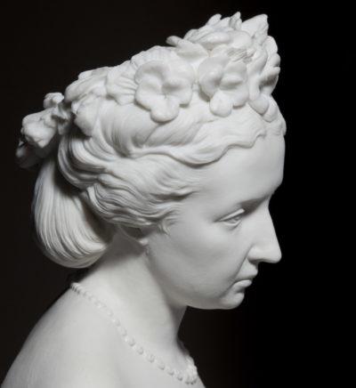 Photosculpture de la comtesse Walewska - Patrimoine Charles-André COLONNA WALEWSKI, en ligne directe de Napoléon