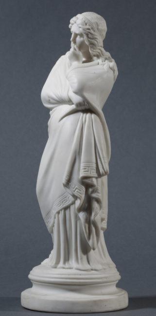 Figure de Rachel en biscuit de porcelaine - Patrimoine Charles-André COLONNA WALEWSKI, en ligne directe de Napoléon