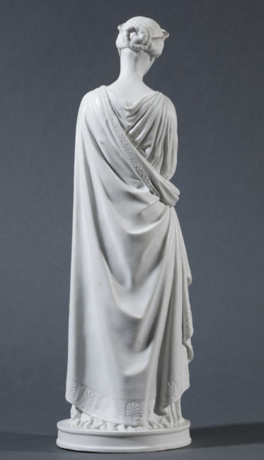 Rachel dans le rôle d'Hermione, deux sculptures de Barre - Patrimoine Charles-André COLONNA WALEWSKI, en ligne directe de Napoléon