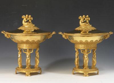 Paire de coupes d'entremet - Patrimoine Charles-André COLONNA WALEWSKI, en ligne directe de Napoléon