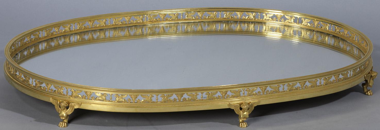 Surtout de table Empire - Patrimoine Charles-André COLONNA WALEWSKI, en ligne directe de Napoléon