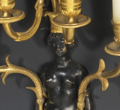 Paire d'appliques - Patrimoine Charles-André COLONNA WALEWSKI, en ligne directe de Napoléon