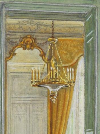 Très rare lustre sur un modèle de Thomire - Patrimoine Charles-André COLONNA WALEWSKI, en ligne directe de Napoléon