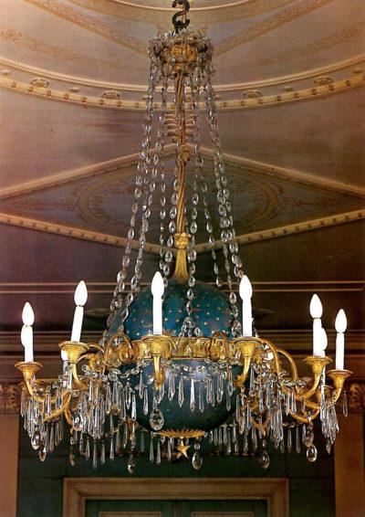 Rare lustre - Patrimoine Charles-André COLONNA WALEWSKI, en ligne directe de Napoléon