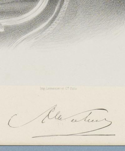 Le comte Walewski par Auguste Lemoine - Patrimoine Charles-André COLONNA WALEWSKI, en ligne directe de Napoléon