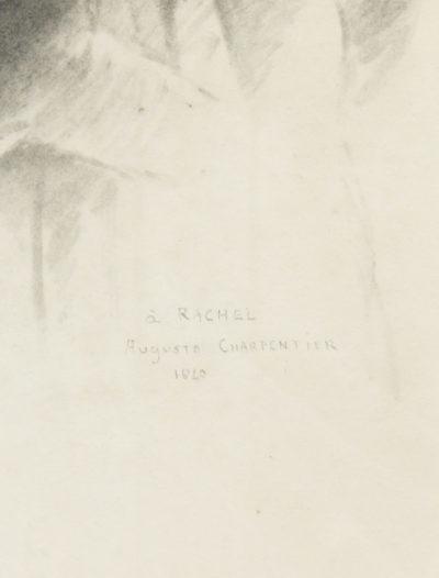 Dessin de Rachel par Charpentier - Patrimoine Charles-André COLONNA WALEWSKI, en ligne directe de Napoléon