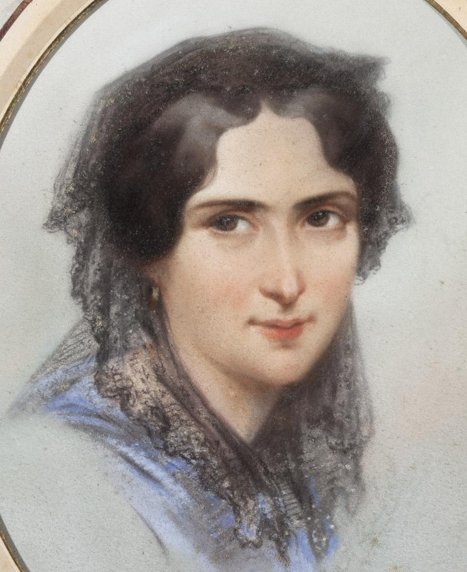Portrait de Rachel par Aubert - Patrimoine Charles-André COLONNA WALEWSKI, en ligne directe de Napoléon