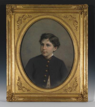 Alexandre II Walewski par Winterhalter - Patrimoine Charles-André COLONNA WALEWSKI, en ligne directe de Napoléon