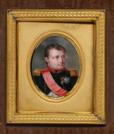 Miniature de Napoléon - Patrimoine Charles-André COLONNA WALEWSKI, en ligne directe de Napoléon