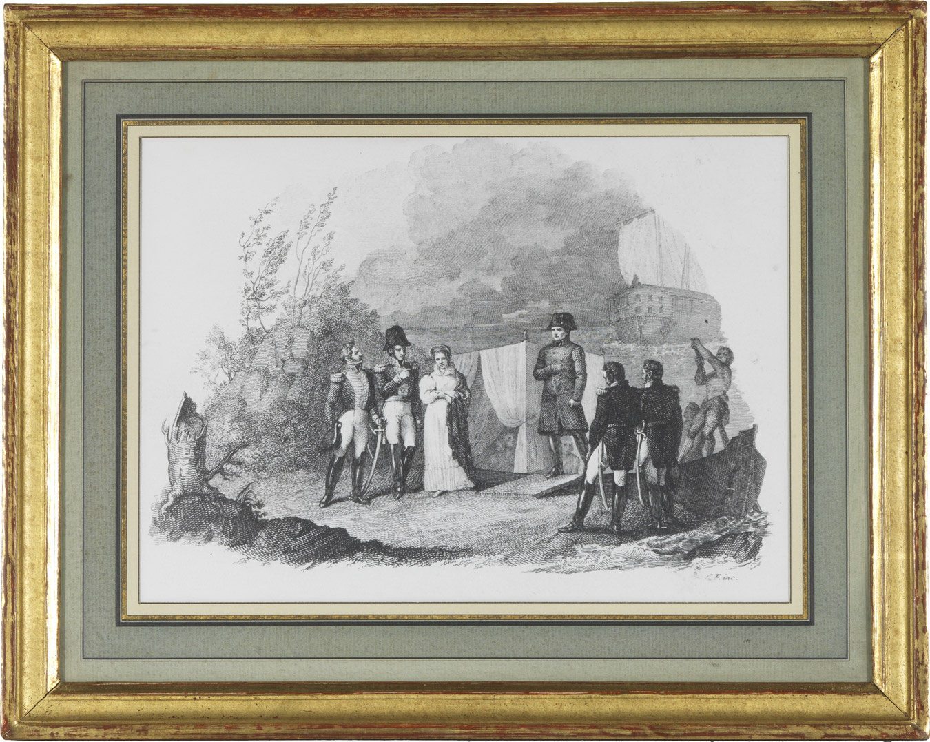 L'Empereur à l'île d'Elbe - Patrimoine Charles-André COLONNA WALEWSKI, en ligne directe de Napoléon