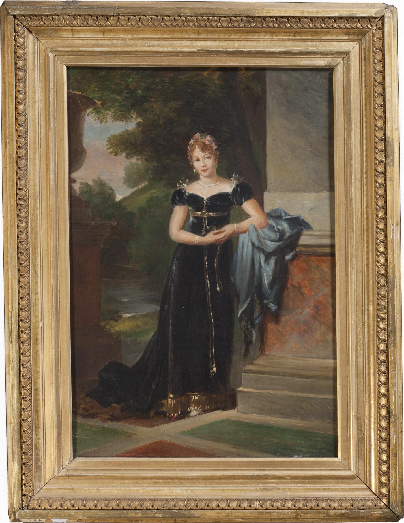 Marie Walewska, copie du tableau de Gérard par Paulet - Patrimoine Charles-André COLONNA WALEWSKI, en ligne directe de Napoléon