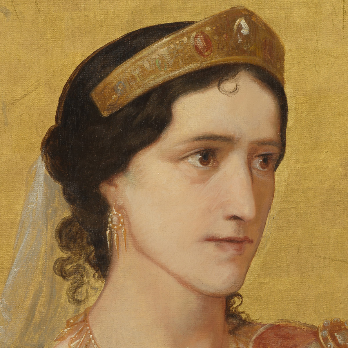 Rachel dans le rôle de Phèdre, par Anker - Patrimoine Charles-André COLONNA WALEWSKI, en ligne directe de Napoléon