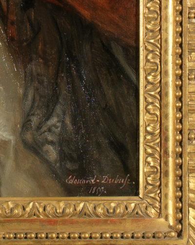 Portrait de la comtesse Walewska par Dubufe - Patrimoine Charles-André COLONNA WALEWSKI, en ligne directe de Napoléon