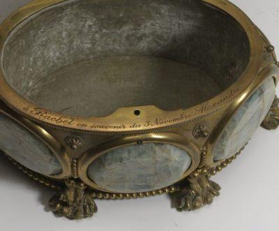 Grande boîte à panneaux circulaires - Patrimoine Charles-André COLONNA WALEWSKI, en ligne directe de Napoléon