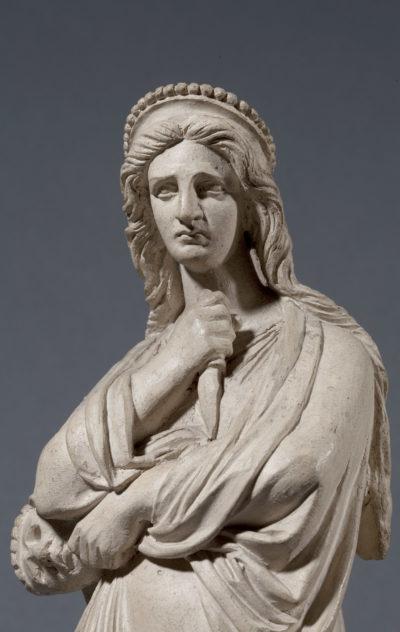 Statuette : Rachel personnifiant la Tragédie - Patrimoine Charles-André COLONNA WALEWSKI, en ligne directe de Napoléon