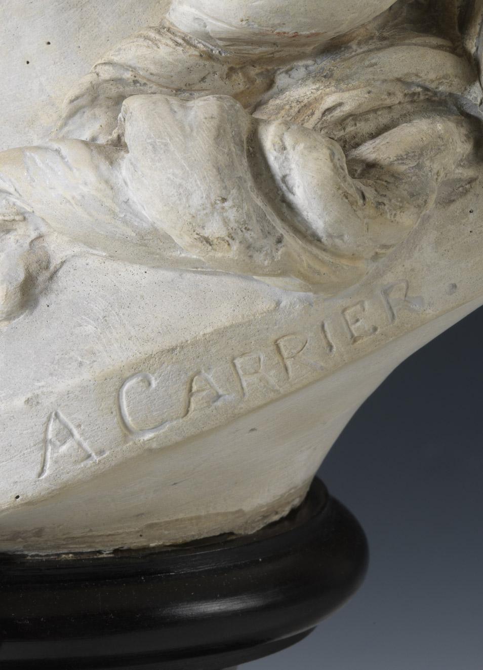 Buste d'Alexandre II Walewski enfant par Carrier-Belleuse - Patrimoine Charles-André COLONNA WALEWSKI, en ligne directe de Napoléon