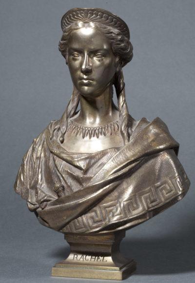 Buste en bronze de Rachel - Patrimoine Charles-André COLONNA WALEWSKI, en ligne directe de Napoléon