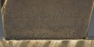Buste du Roi de Rome par Treu - Patrimoine Charles-André COLONNA WALEWSKI, en ligne directe de Napoléon