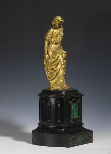 Deux statuettes de Schoenewerk - Patrimoine Charles-André COLONNA WALEWSKI, en ligne directe de Napoléon