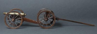 Petit modèle de canon ayant appartenu au Roi de Rome - Patrimoine Charles-André COLONNA WALEWSKI, en ligne directe de Napoléon