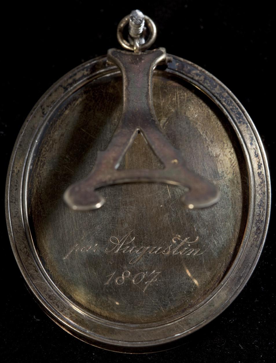 Miniature de Napoléon Ier par Augustin - Patrimoine Charles-André COLONNA WALEWSKI, en ligne directe de Napoléon