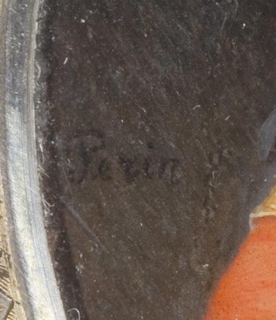 Miniature de Napoléon signée Perin - Patrimoine Charles-André COLONNA WALEWSKI, en ligne directe de Napoléon