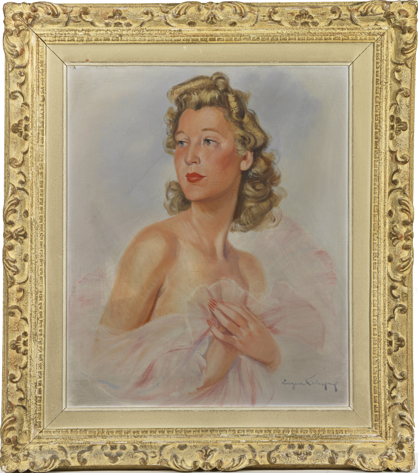 Portrait de la comtesse Roger Walewski - Patrimoine Charles-André COLONNA WALEWSKI, en ligne directe de Napoléon