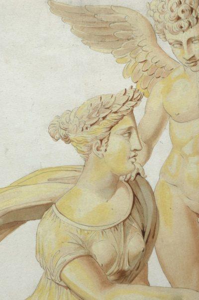 La psyché de l'impératrice Marie-Louise - Patrimoine Charles-André COLONNA WALEWSKI, en ligne directe de Napoléon