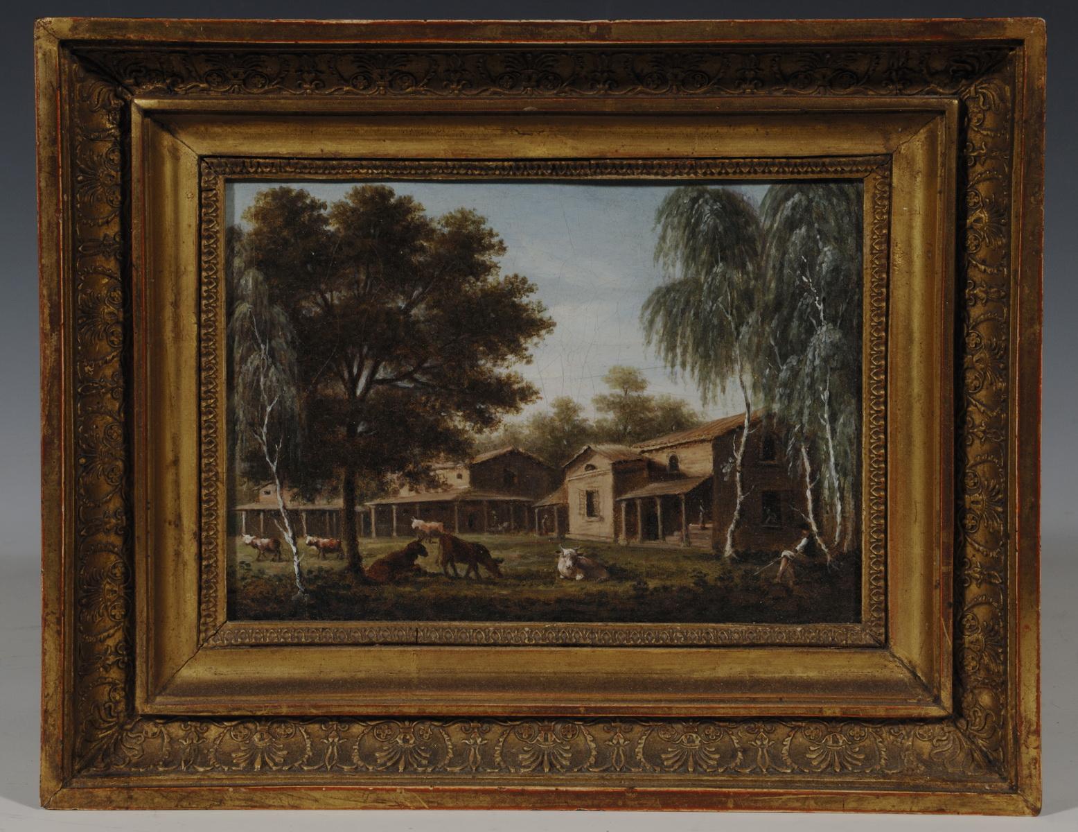 Vue de la vacherie dans le parc du château de Malmaison - Patrimoine Charles-André COLONNA WALEWSKI, en ligne directe de Napoléon