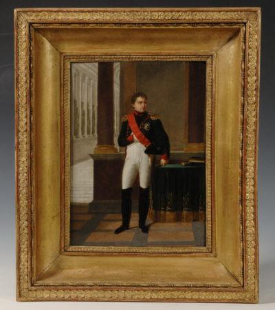 Napoléon en uniforme - Patrimoine Charles-André COLONNA WALEWSKI, en ligne directe de Napoléon