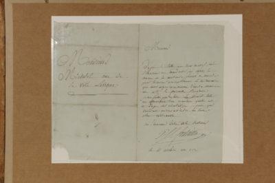 Tableau - Patrimoine Charles-André COLONNA WALEWSKI, en ligne directe de Napoléon