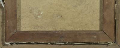 Copie de l'autoportrait de Rembrandt - Patrimoine Charles-André COLONNA WALEWSKI, en ligne directe de Napoléon