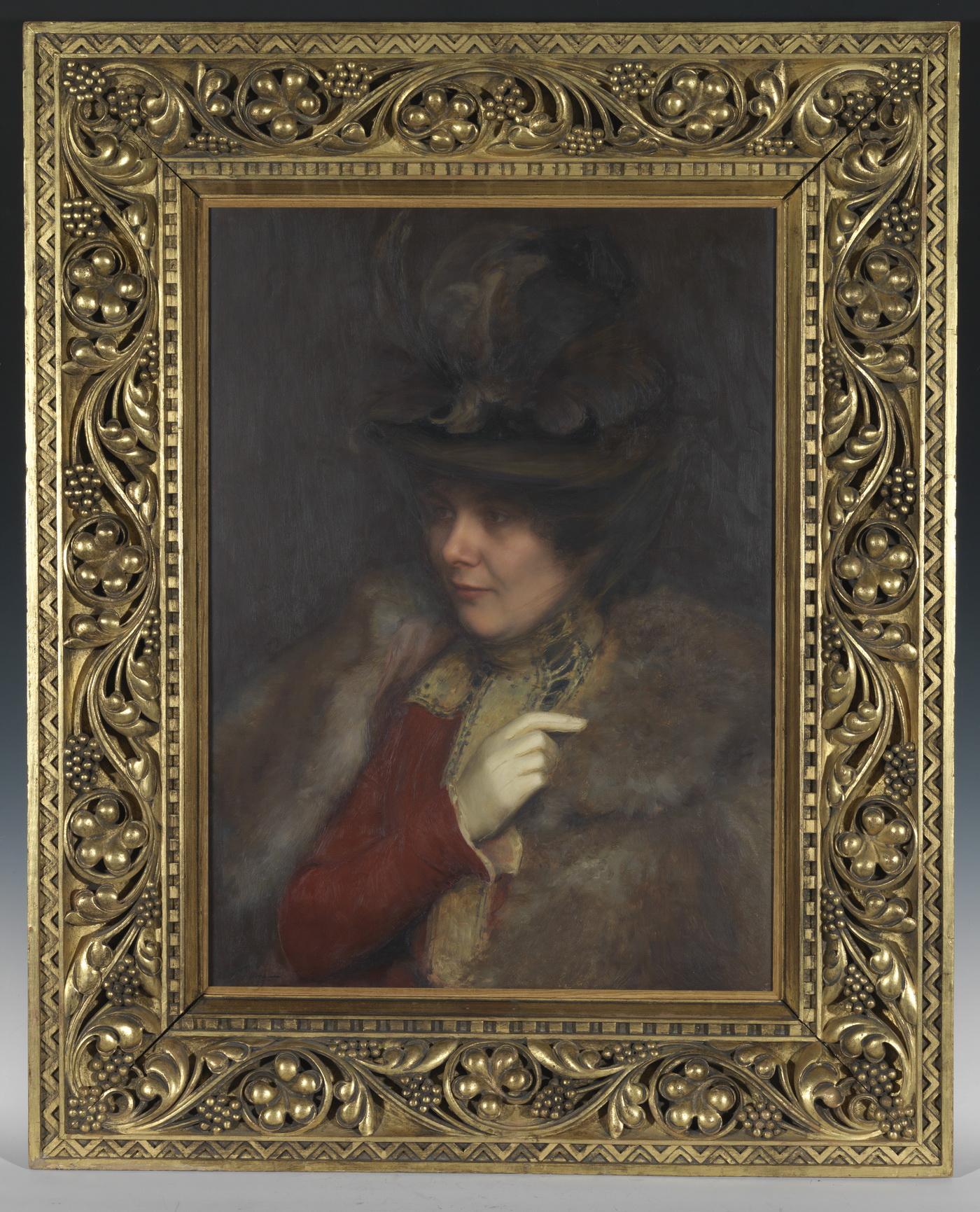 Portrait de Marguerite Paul - Patrimoine Charles-André COLONNA WALEWSKI, en ligne directe de Napoléon