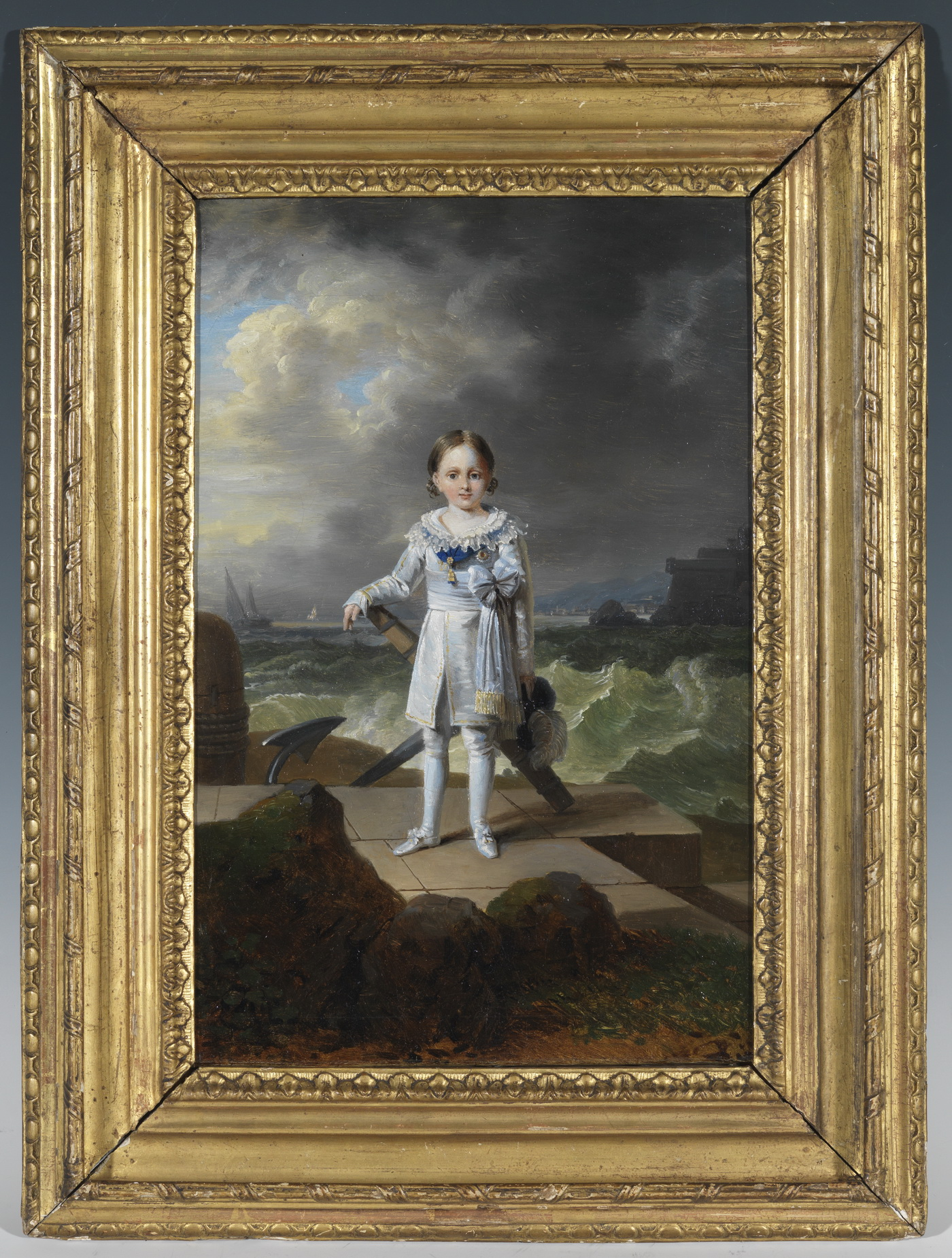 Portrait de Napoléon-Louis Bonaparte - Patrimoine Charles-André COLONNA WALEWSKI, en ligne directe de Napoléon