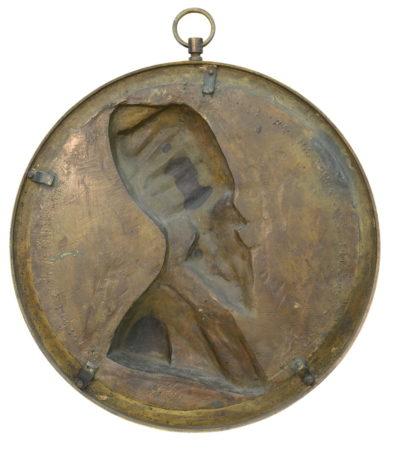 Médaillon avec l'effigie de Asker-Khan - Patrimoine Charles-André COLONNA WALEWSKI, en ligne directe de Napoléon