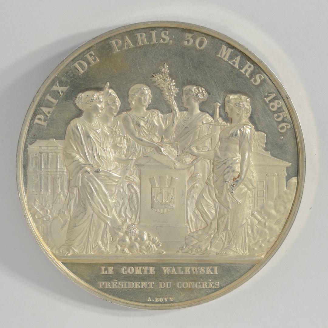 Second Empire, Traité de Paris, le comte Walewski président du Congrès, 1856 - Patrimoine Charles-André COLONNA WALEWSKI, en ligne directe de Napoléon
