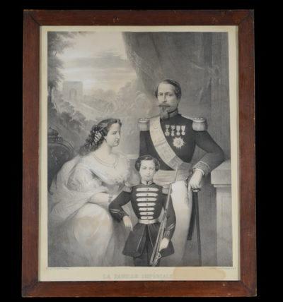 La Famille Impériale, Second Empire - Patrimoine Charles-André COLONNA WALEWSKI, en ligne directe de Napoléon