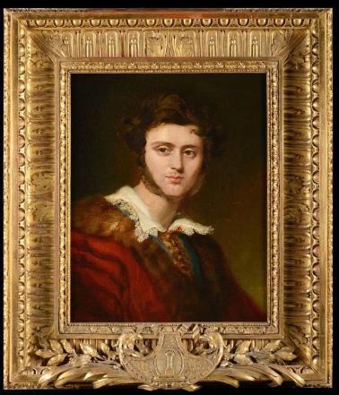 Portrait du jeune comte Alexandre Walewski - Patrimoine Charles-André COLONNA WALEWSKI, en ligne directe de Napoléon