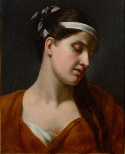 Rachel dans le rôle de Camille par Achille Devéria - Patrimoine Charles-André COLONNA WALEWSKI, en ligne directe de Napoléon
