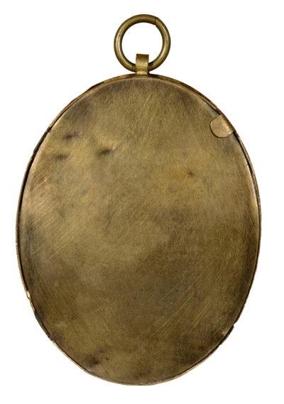 Miniature sur Ivoire représentant Madame Mère, - Patrimoine Charles-André COLONNA WALEWSKI, en ligne directe de Napoléon