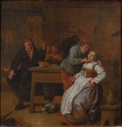 Scene de taverne vers 1650 - Patrimoine Charles-André COLONNA WALEWSKI, en ligne directe de Napoléon