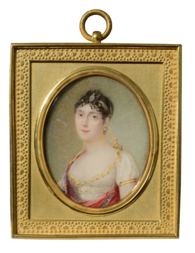 L'imperatrice Josephine par Jean-Antoine Laurent - Patrimoine Charles-André COLONNA WALEWSKI, en ligne directe de Napoléon