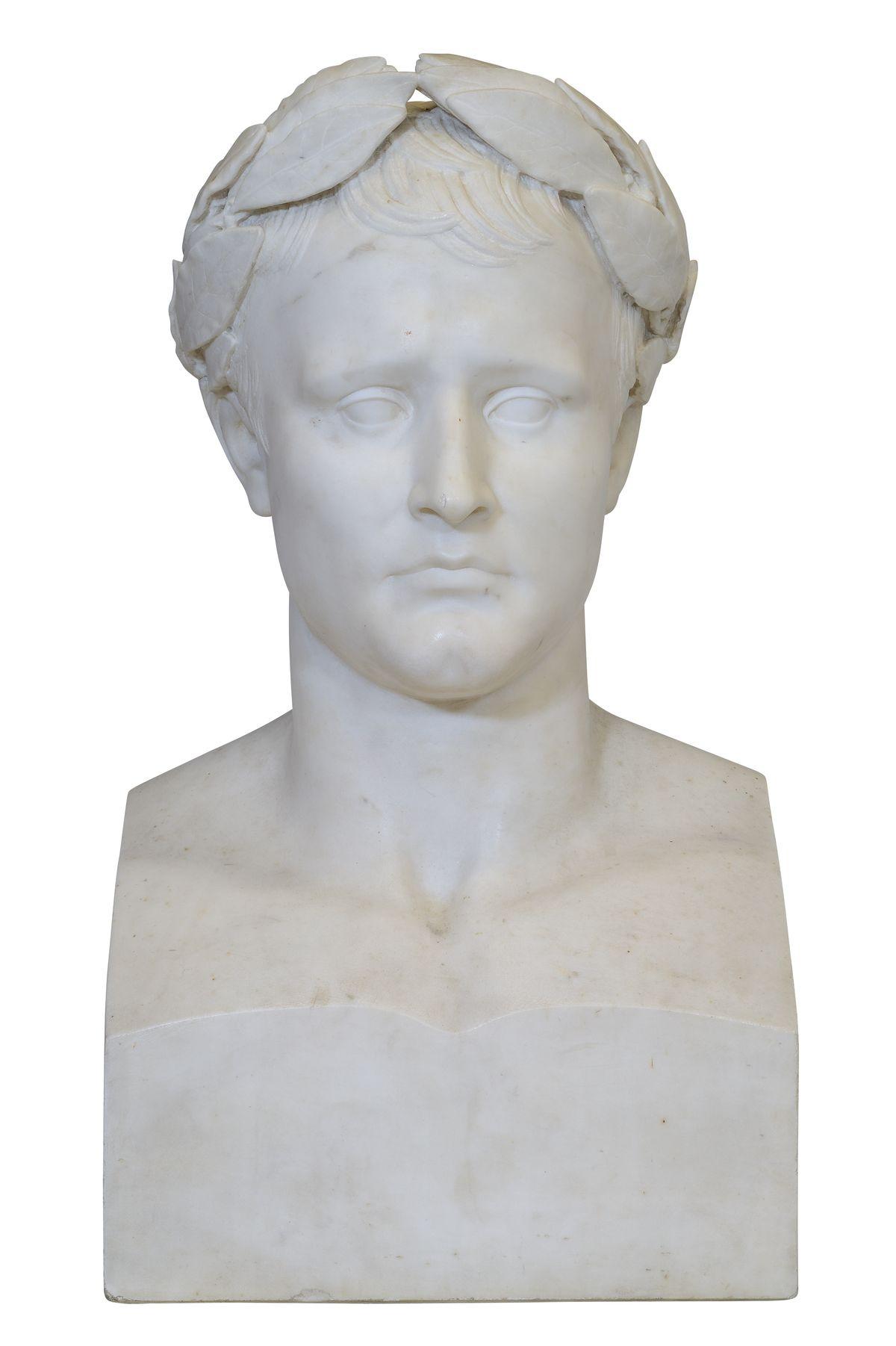 L'empereur Napoleon signé marochetti - Patrimoine Charles-André COLONNA WALEWSKI, en ligne directe de Napoléon