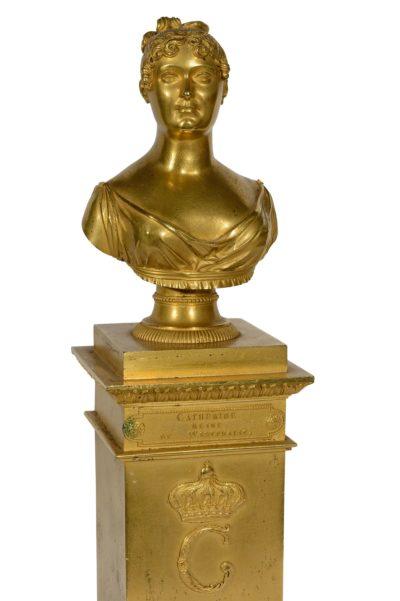 Catherine de Wurtemberg Reine de Westphalie - Patrimoine Charles-André COLONNA WALEWSKI, en ligne directe de Napoléon