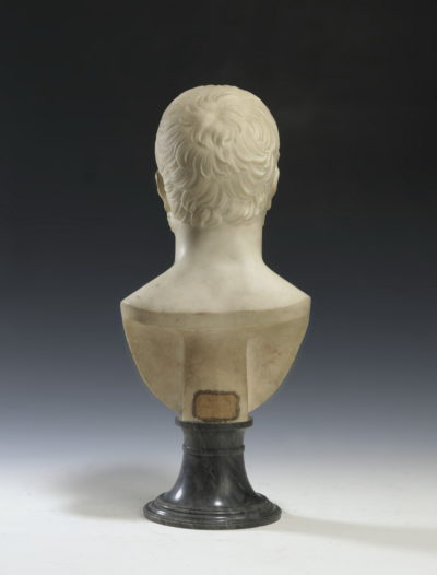 Buste en marbre de Carrare - Patrimoine Charles-André COLONNA WALEWSKI, en ligne directe de Napoléon