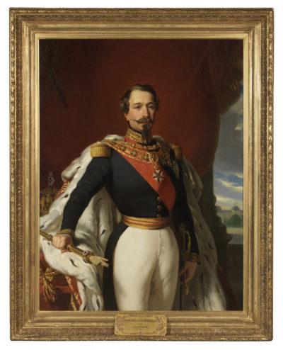 Portrait de l'Empereur Napoléon III - Patrimoine Charles-André COLONNA WALEWSKI, en ligne directe de Napoléon