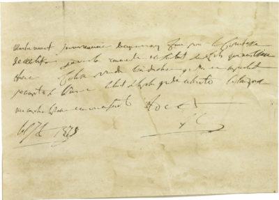 Lettre autographe de Napoléon à Murat - Patrimoine Charles-André COLONNA WALEWSKI, en ligne directe de Napoléon