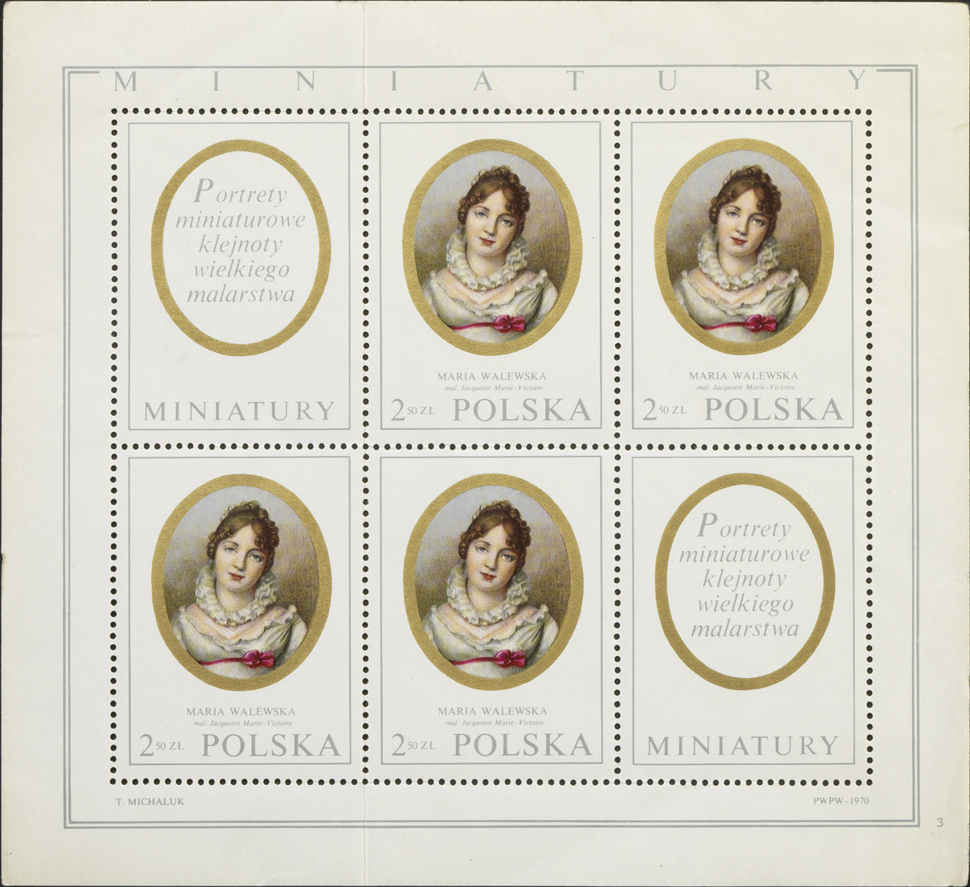 Timbres polonais en l'honneur de Marie Walewska - Patrimoine Charles-André COLONNA WALEWSKI, en ligne directe de Napoléon